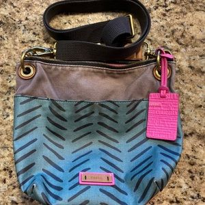 2/$50💙Fossil Crossbody bag Purse